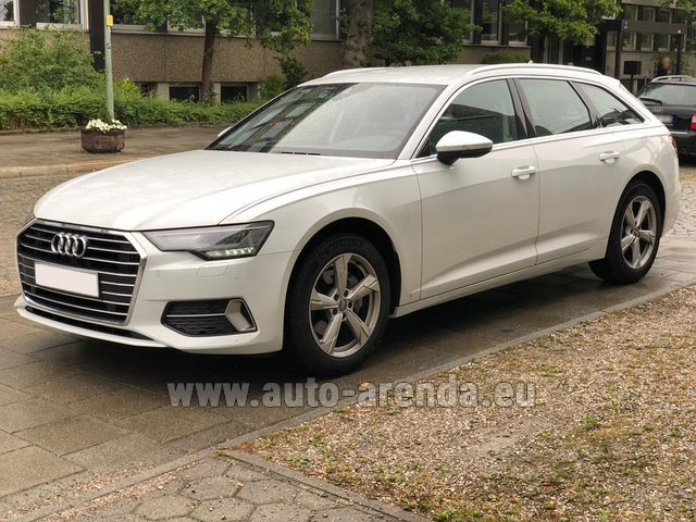 Rental Audi A6 40 TDI Quattro Estate in Portimao