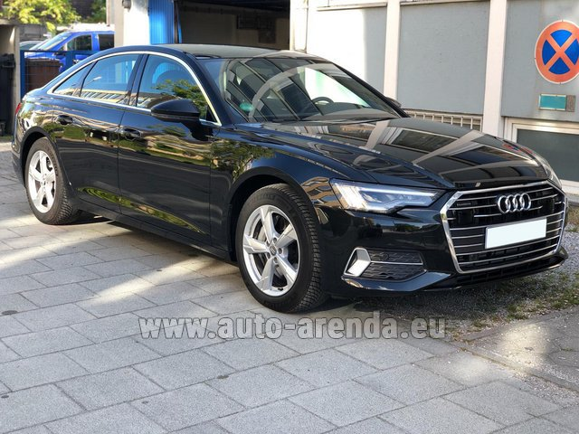 Rental Audi A6 45 TDI Quattro in Portugal