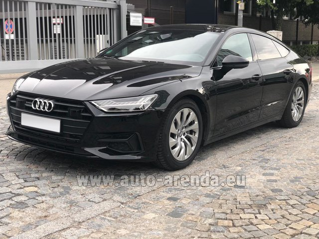 Rental Audi A7 50 TDI Quattro Equipment S-Line in Lagos
