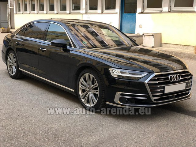 Прокат и доставка в аэропорт Лиссабона Портела авто Ауди A8 Long 50 TDI Quattro