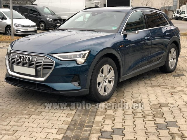 Rental Audi e-tron 55 quattro (electric car) in Lagos