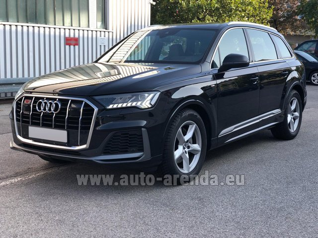 Rental Audi Q7 50 TDI Quattro Equipment S-Line (5 seats) in Lagos
