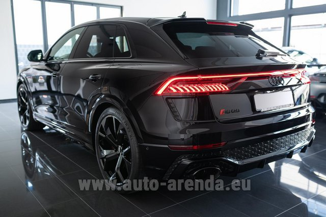 Rental Audi RS Q8 in Lagos