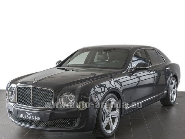 Rental Bentley Mulsanne Speed V12 in Faro