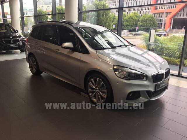 Rental BMW 2 Gran Tourer Equipment M Sport in Portugal