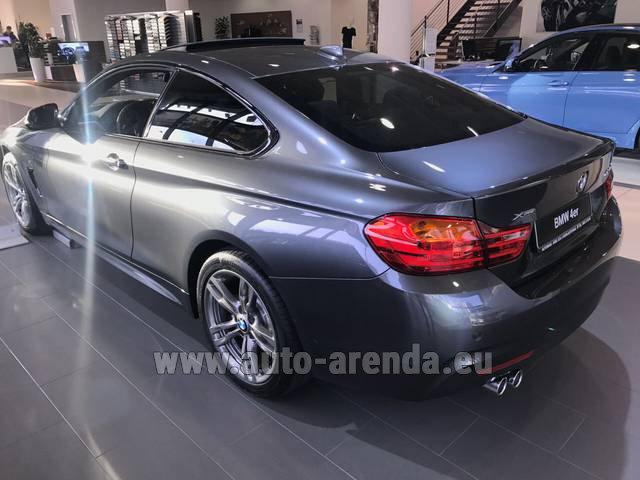 Rental BMW 420d xDrive Coupe M Sportpaket in Portugal