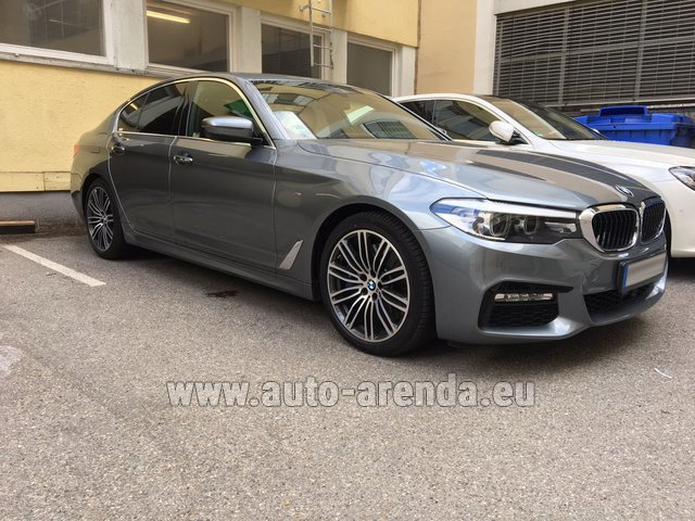 Rental BMW 540i M in Algarve