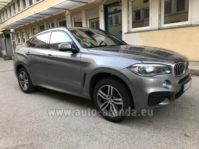Rental BMW X6 4.0d xDrive High Executive M in Portugal