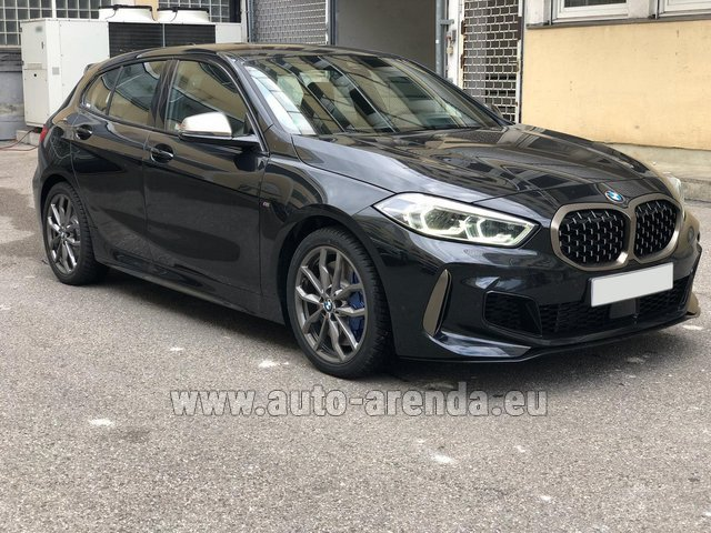 Hire and delivery to Lisbon Portela airport the car BMW M135i XDrive