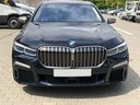 BMW M760Li xDrive V12 car for transfers from airports and cities in Germany and Europe.