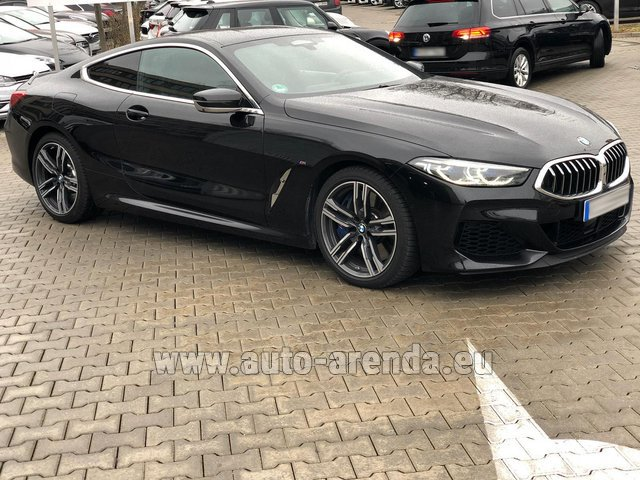 Rental BMW M850i xDrive Coupe in Portugal