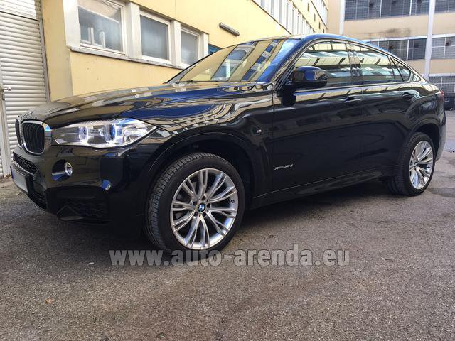 Прокат БМВ X6 3.0d xDrive High Executive M спорт пакет в Португалии