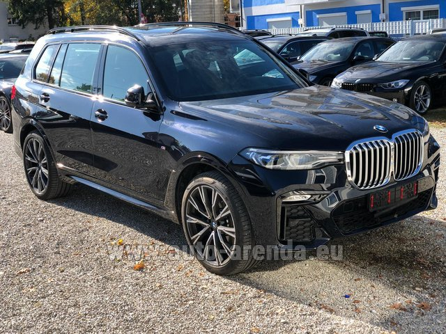 Hire and delivery to Lisbon Portela airport the car BMW X7 xDrive40i