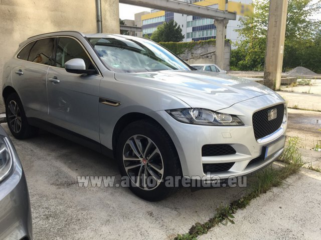 Rental Jaguar F-Pace in Algarve
