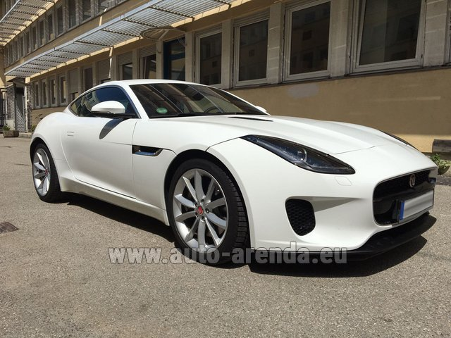 Rental Jaguar F-Type 3.0 Coupe in Madeira