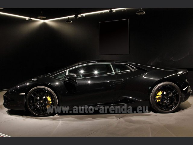 Rental Lamborghini Huracan LP580-2 Lifting System Giano 20 in Madeira