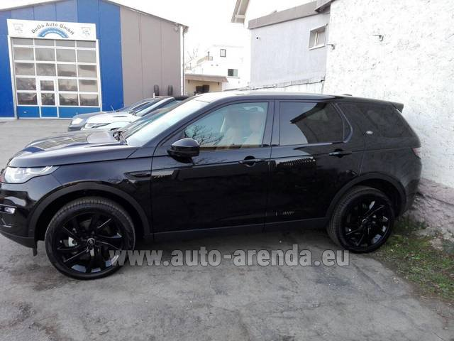 Rental Land Rover Discovery Sport HSE Luxury (5-7 Seats) in Faro