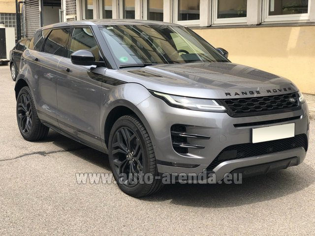 Rental Land Rover Range Rover Evoque D180SE in Portimao