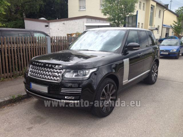 Rental Land Rover Range Rover SDV8 Autobiography in Portugal
