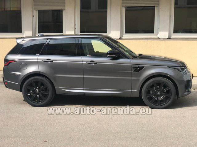 Rental Land Rover Range Rover Sport SDV6 Panorama 22 in Portugal