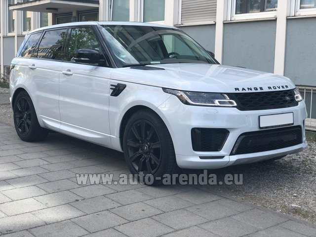 Rental Land Rover Range Rover Sport White in Portimao