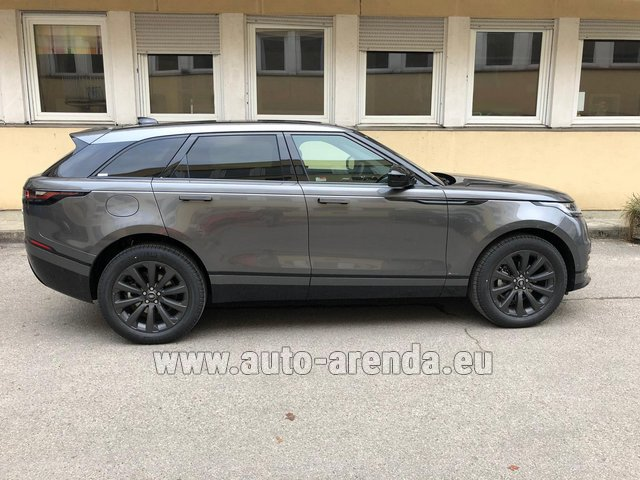 Rental Land Rover Range Rover Velar P250 SE in Portugal