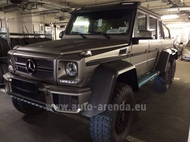 Rental Mercedes-Benz 6x6 AMG 6.3 in Lisbon