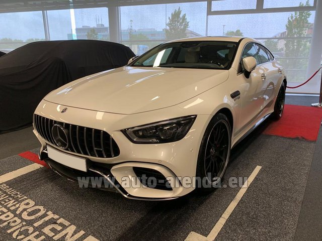 Прокат и доставка в аэропорт Лиссабона Портела авто Мерседес-Бенц AMG GT 63 S 4-Door Coupe 4Matic+