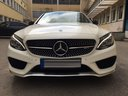 Rent-a-car Mercedes-Benz C-Class C43 AMG Biturbo 4MATIC White in Portugal, photo 2