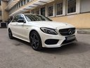 Rent-a-car Mercedes-Benz C-Class C43 AMG Biturbo 4MATIC White in Portugal, photo 5