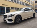 Rent-a-car Mercedes-Benz C-Class C43 AMG Biturbo 4MATIC White in Portugal, photo 1