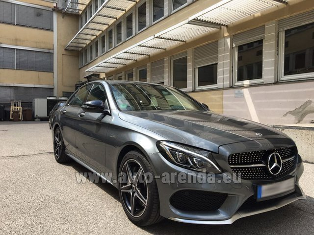 Rental Mercedes-Benz C-Class C43 AMG BITURBO 4Matic in Faro