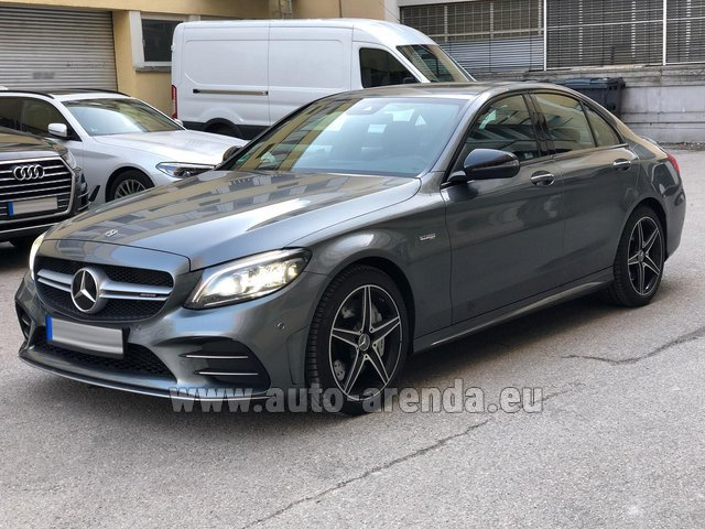 Rental Mercedes-Benz C-Class C43 BITURBO 4Matic AMG in Portimao