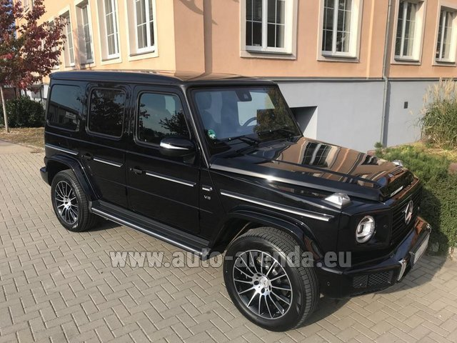 Rental Mercedes-Benz G-Class G500 2018 Exclusive Edition in Vilamoura