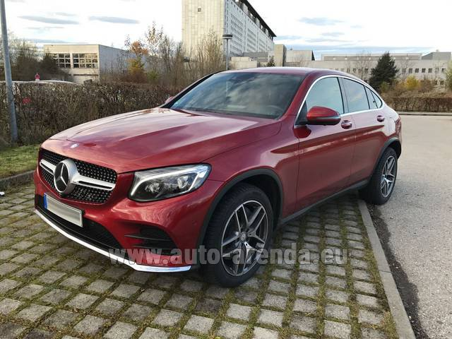 Rental Mercedes-Benz GLC Coupe in Algarve