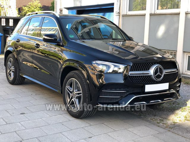 Прокат и доставка в аэропорт Лиссабона Портела авто Мерседес-Бенц GLE 400 4Matic AMG комплектация