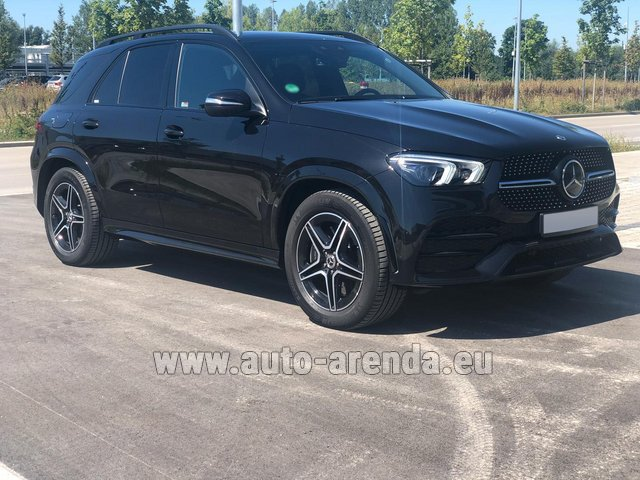 Rental Mercedes-Benz GLE 450 4MATIC AMG equipment in Lisbon
