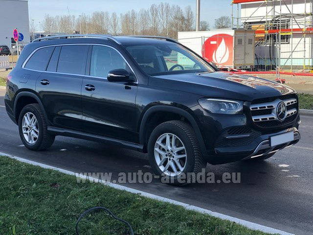 Прокат Мерседес-Бенц GLS 350 4Matic AMG комплектация в Виламоура