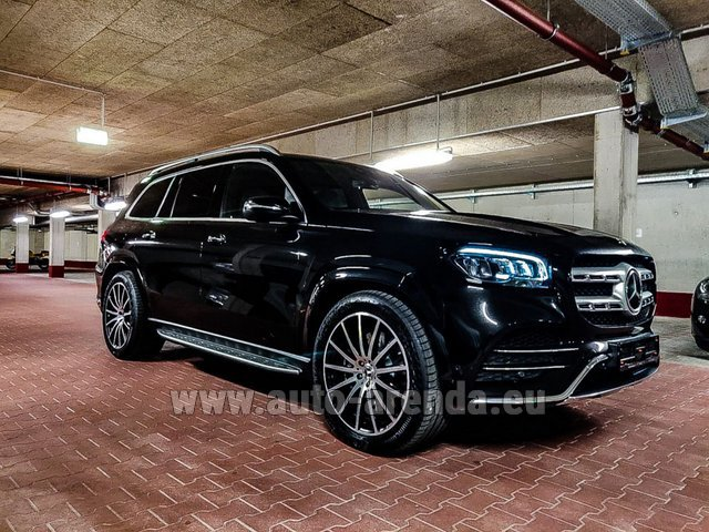 Прокат Мерседес-Бенц GLS 400d 4MATIC BlueTEC комплектация AMG в Виламоура