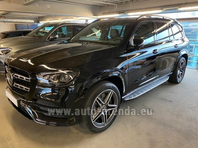 Прокат Мерседес-Бенц GLS 400d BlueTEC 4MATIC комплектация AMG в Виламоура
