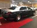 Rent-a-car Maybach S 560 4MATIC AMG equipment Metallic and Black in Lagos, photo 4
