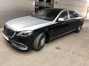 Rent-a-car Maybach S 560 4MATIC AMG equipment Metallic and Black in Lagos, photo 3