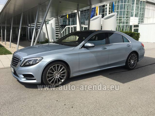 Rental Mercedes-Benz S 350 L BlueTEC 4MATIC AMG in Faro