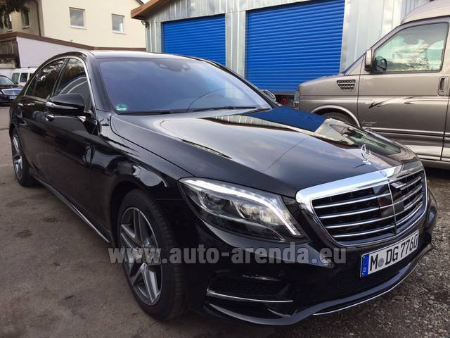 Rental Mercedes-Benz S 350 L BlueTEC AMG in Faro