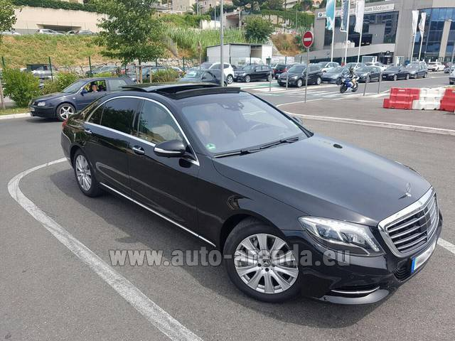 Rental Mercedes-Benz S 350 Long AMG in Algarve