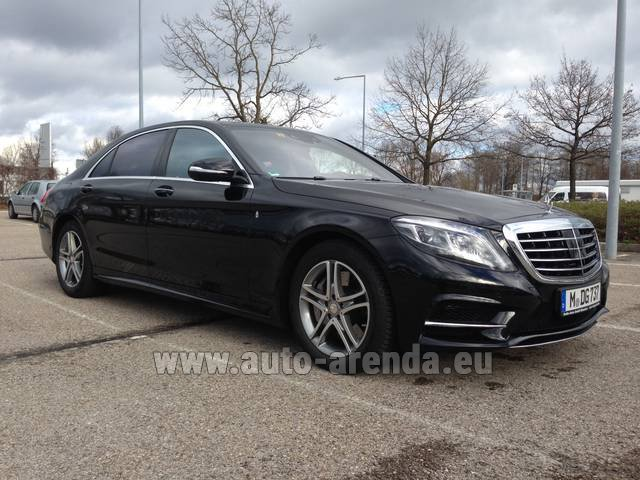 Rental Mercedes-Benz S 350 Long Diesel 4x4 AMG in Faro