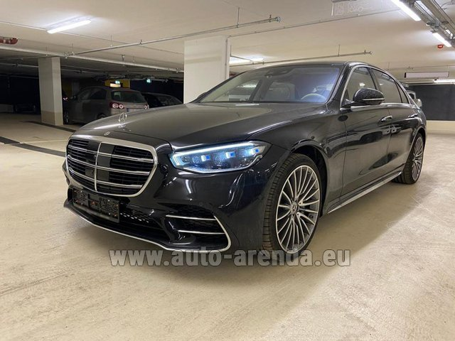Rental Mercedes-Benz S 500 4MATIC Sedan long in Portimao