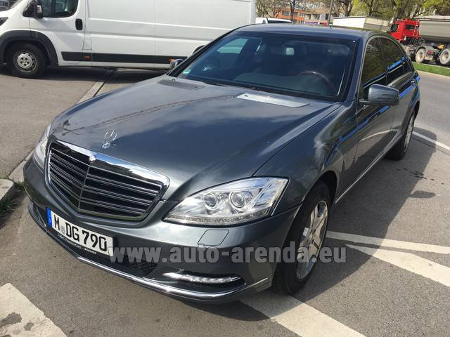 Прокат Мерседес-Бенц S 600 L B6 B7 Guard FACELIFT в Португалии