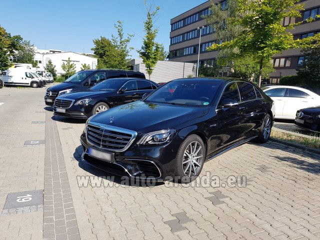 Rental Mercedes-Benz S 63 AMG Long in Algarve