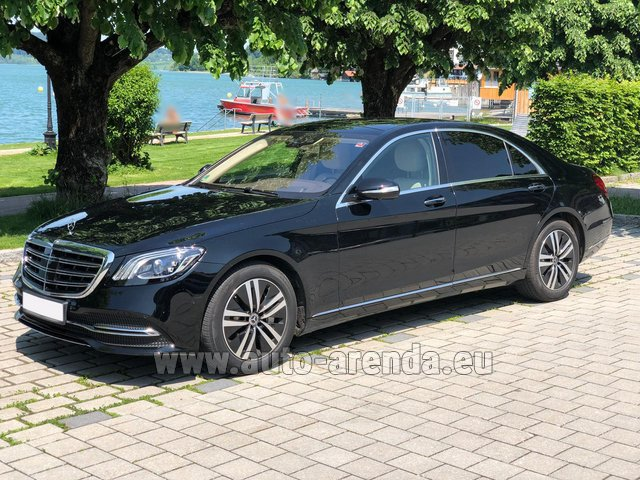 Rental Mercedes-Benz S-Class S400 Long 4Matic Diesel AMG equipment in Portimao